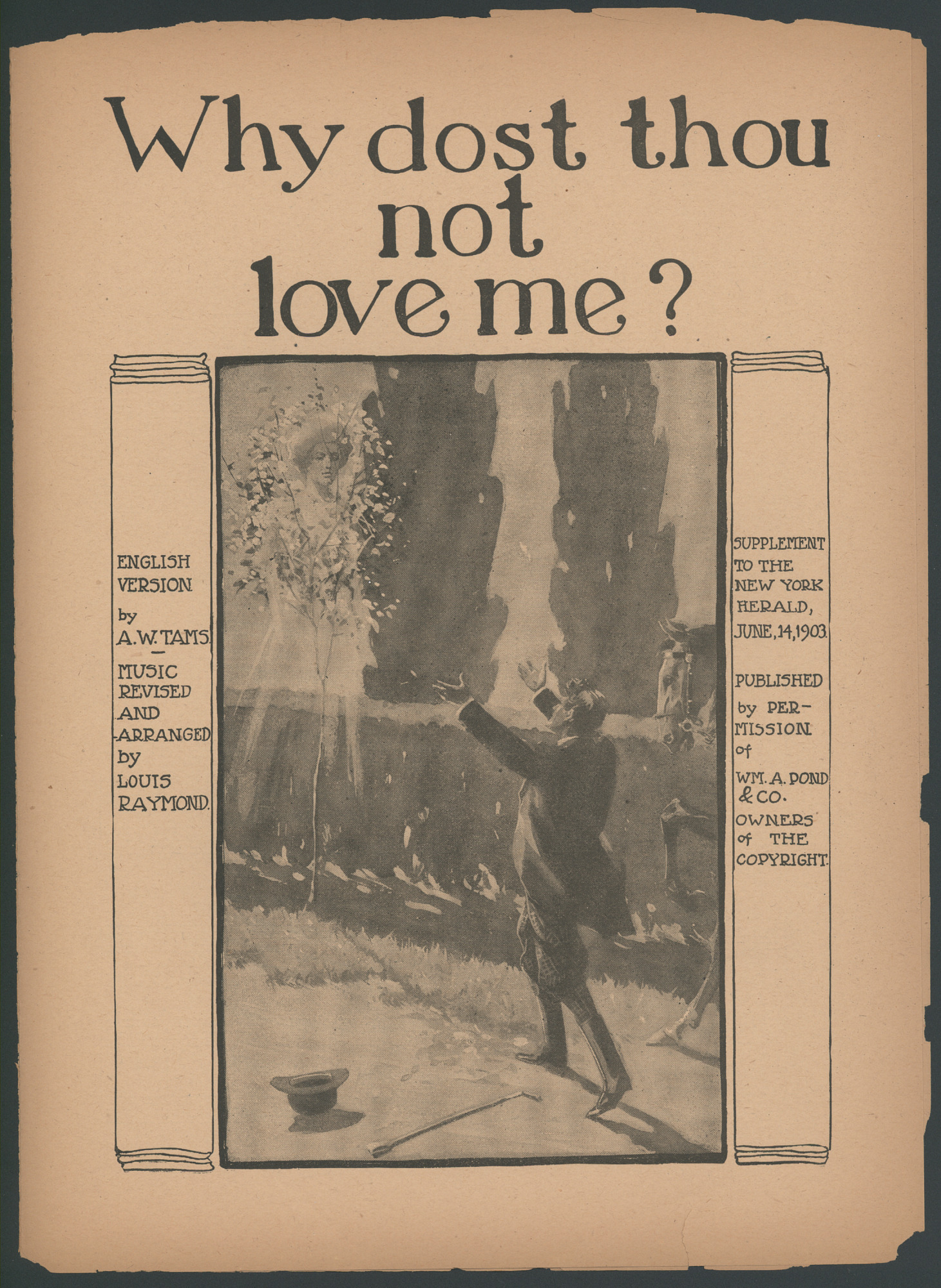 "images for ""Why Dost Thou Not Love Me?"" Sheet Music"