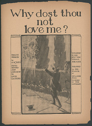 """Why Dost Thou Not Love Me?"" Sheet Music"