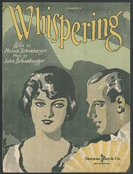 """""""Whispering"""" Sheet Music"""