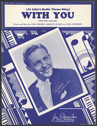 """With You"" Sheet Music"