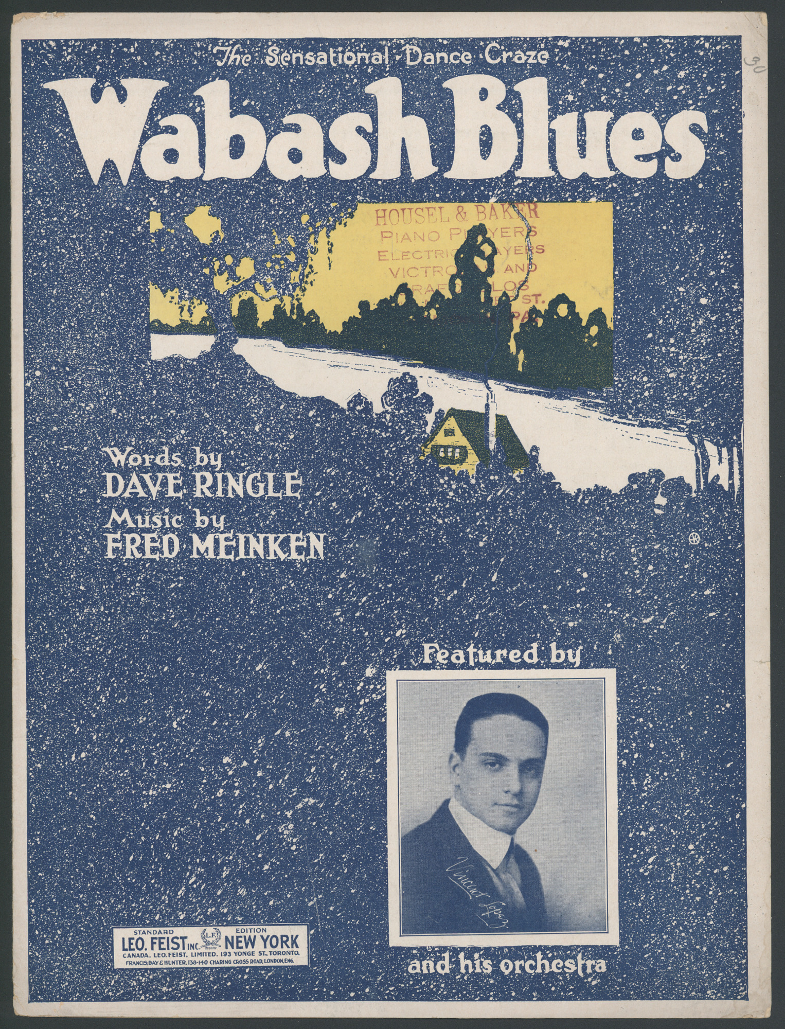 "Resources :: ""Wabash Blues"" Sheet Music 