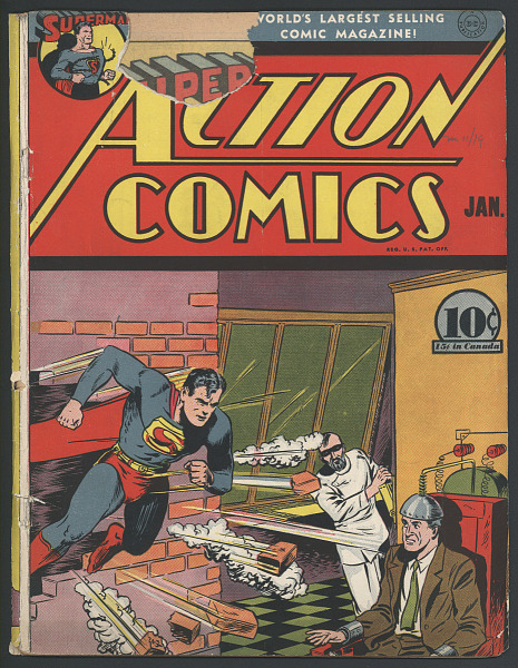 "Comic Book, ""Action Comics"""