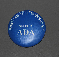 button, Americans With Disabilities Act