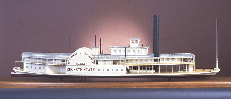 Ship Model, Steamboat Buckeye State