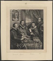 group portrait with four men