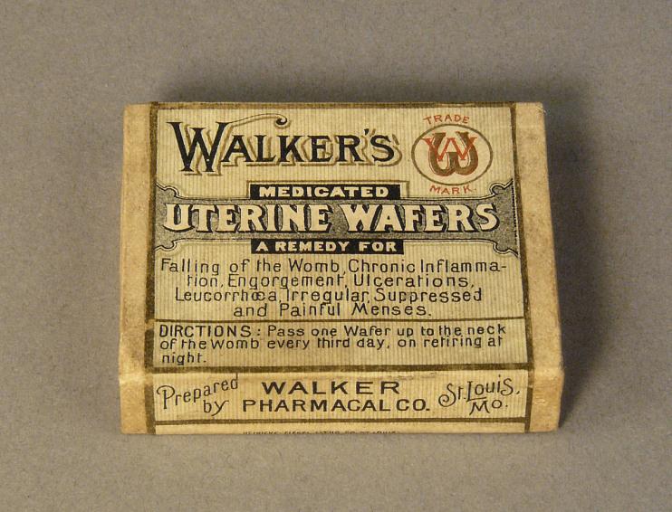 Walker's Medicated Uterine Wafers