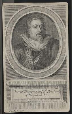 Richard Weston, Earl Of Portland