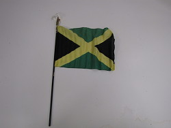flag, Jamaica.