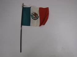 flag, Mexico.
