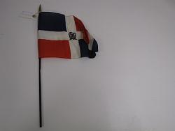flag, Dominican republic.