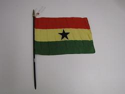 flag, Ghana.