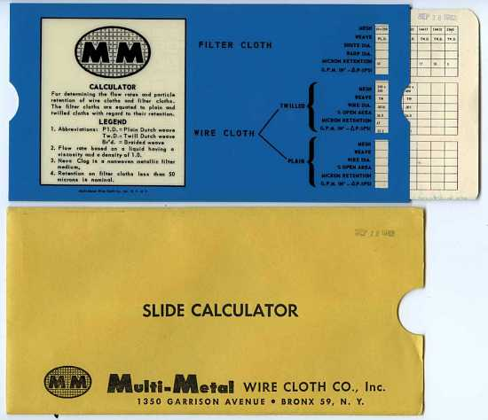 images for slide chart, mm calculator #1