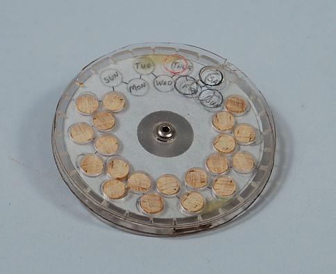 Wagner Pill Dispenser Patent Model