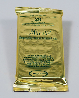 Mircette 28 Day Oral Contraceptives National Museum Of American