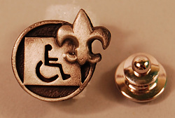 pin, Boy Scouts Disability Awareness