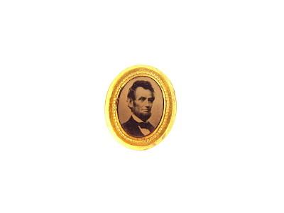 Abraham Lincoln Campaign Badge