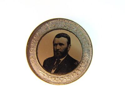 Ulysses S. Grant Campaign Badge