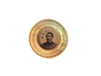 George B. McClellan Campaign Badge