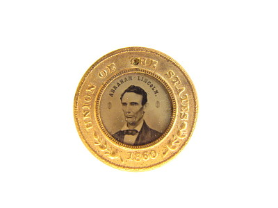 Abraham Lincoln Campaign Badge