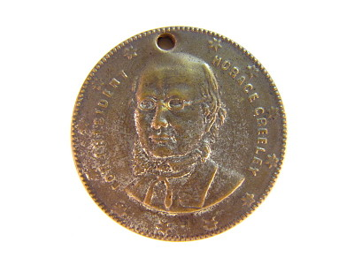 Horace Greeley Campaign Medal