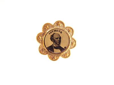 Horatio Seymour Campaign Badge