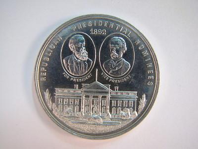 Benjamin Harrison Campaign Medal