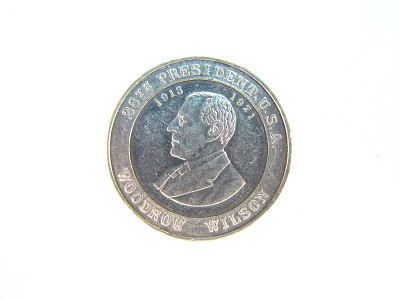 Woodrow Wilson Cracker Jack Coin