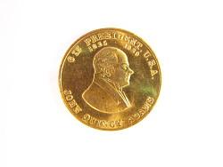 John Quincy Adams Commemorative Token