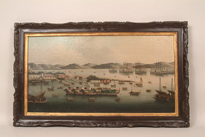 Painting of Whampoa Reach, China