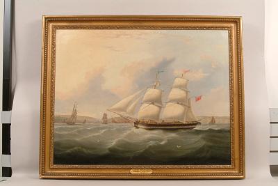 Painting, <i>Collier Brig</i> Morton