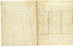 Whaling Letter from Henry White to Parents, dated October 18, 1860