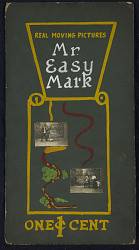 """Mr. Easy Mark"" Mutoscope Movie Poster"