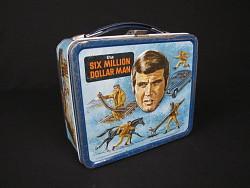 The Six Million Dollar Man Lunch Box