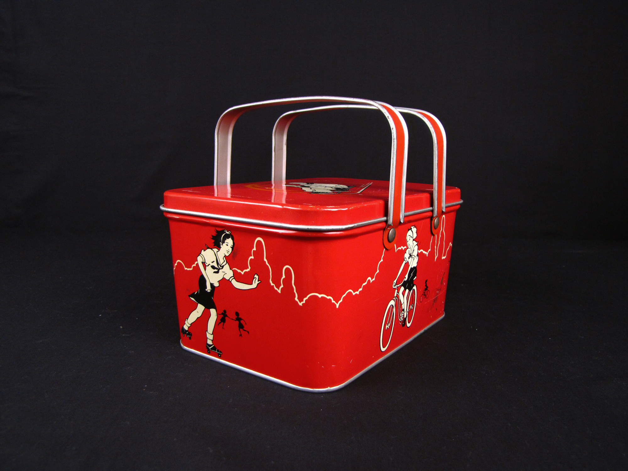 DecoWare Lunch Box, 1930s