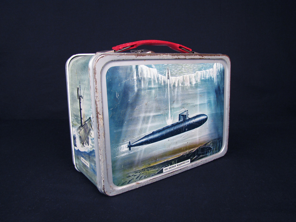 Submarine Lunch Box National Museum Of American History