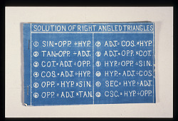 Pamphlet, Solution of Right Angled Triangles