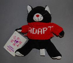 "stuffed animal, ""Mory"""