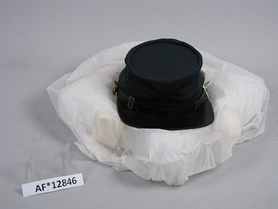 Forage cap worn by Henry S. Gansevoort while a Captain, 5th US Artillery