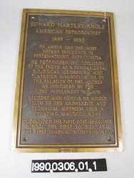Edward Hartley Angle, D.D.S.