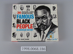 Famous Black People in History Card Game