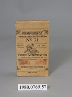 Humphreys' Homeopathic Preparation No 31 Painful Menstruation