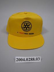 """A Polio Free Nigeria"" - Rotary International Cap"