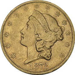 20 Dollars, United States, 1872