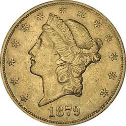 20 Dollars, United States, 1879