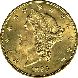 20 Dollars, United States, 1895