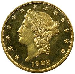 United States, 20 Dollars, 1902