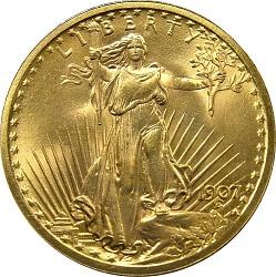 20 Dollars, United States, 1907