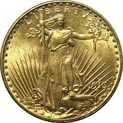 20 Dollars, United States, 1913