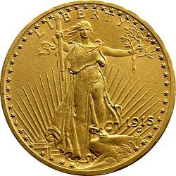 United States, 20 Dollars, 1915