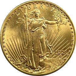 20 Dollars, United States, 1921